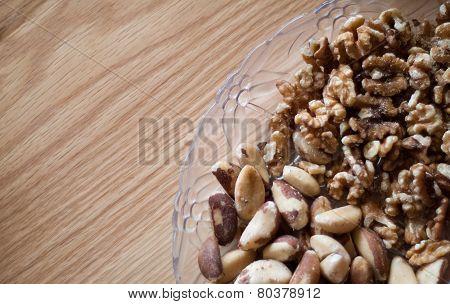 Brazil Nuts And Walnuts
