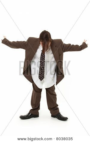 Teen In Baggy Suit