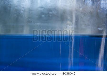 Blue divide