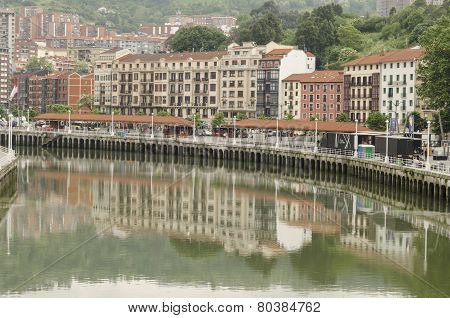 Bilbao city center
