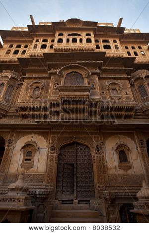 Nathmal Ki Haveli Mansion Front