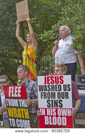Christians vs Gays