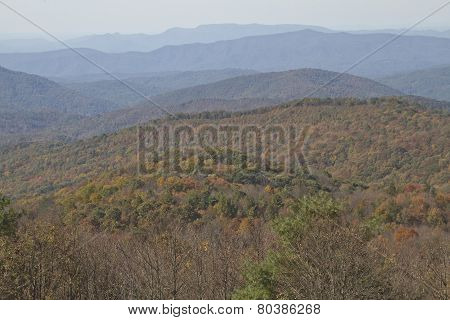 Endless Appalachian Mountains