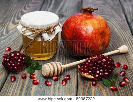Honey  And Pomegranate