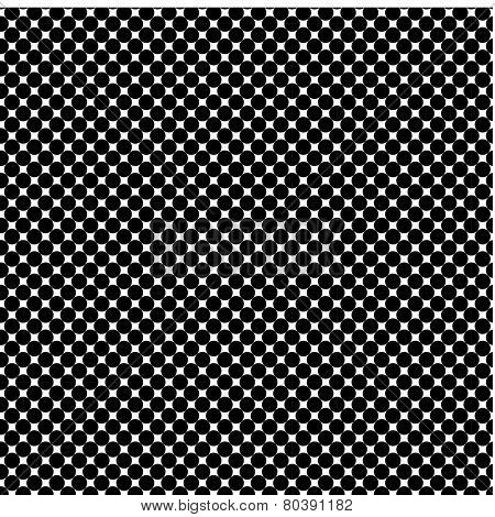 A bold classic black dotted screen vector pattern.