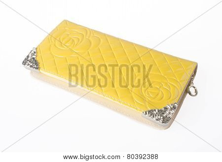 Wallet Woman Isolated. Wallet Woman Isolated On The Blackground