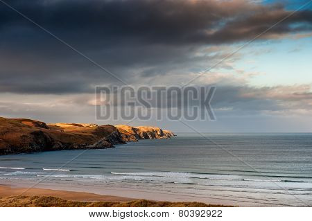 Strathy Point In Winter Sunshine