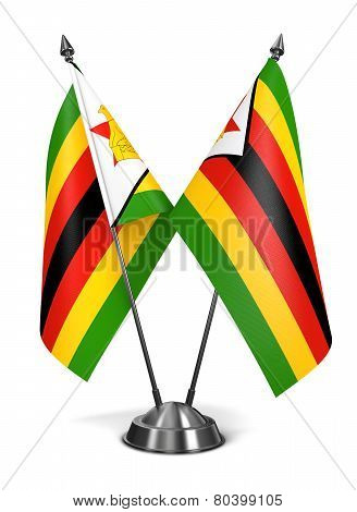 Zimbabwe - Miniature Flags.