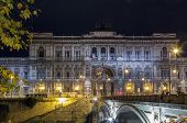 stock photo of supreme court  - The Supreme Court of Cassation is the highest court of appeal or court of last resort in Italy - JPG