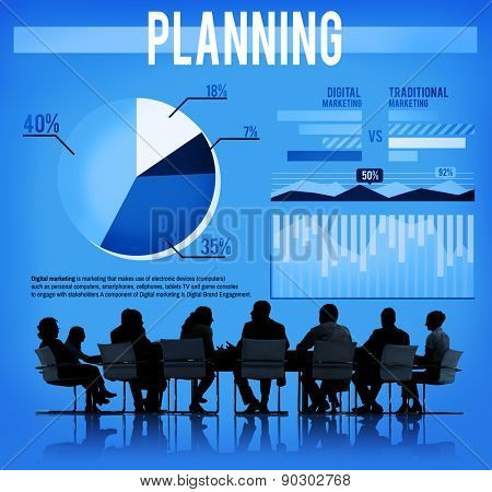 Plan Planning Strategy Solution Tactics Concept