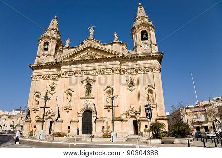 Naxxar Parish Church, Malta