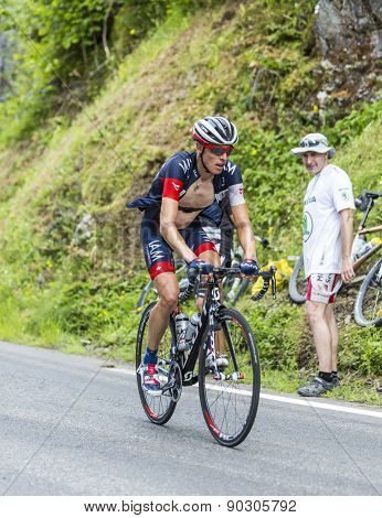 Sebastien Reichenbach On Col Du Tourmalet - Tour De France 2014