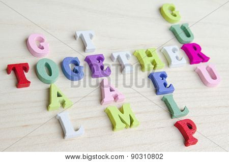 Funny letters crossword puzzle sign