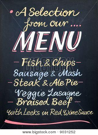 British Pub Sign.