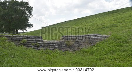 Stone Structure under the Hill