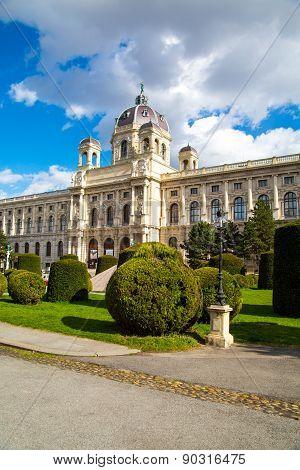 Naturhistorisches Museum, Natural History Museum  In Vienna, Austria