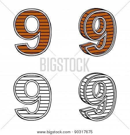 Number Nine (a Block Of Wood)