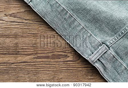 Part Of A Jeans Jacket