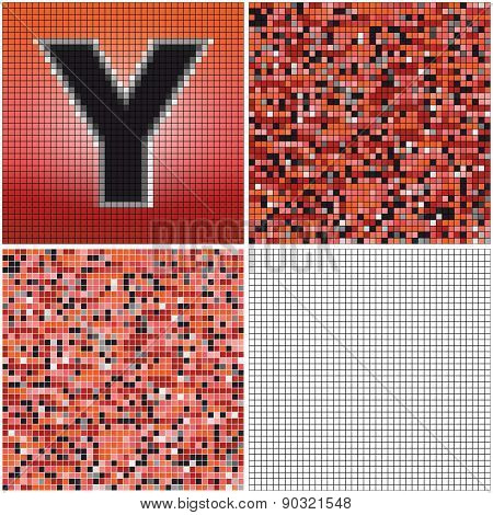 Letter Y (mixed Mosaic)