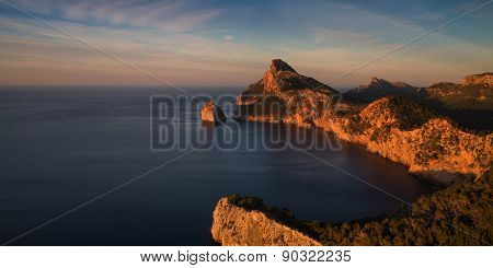 Cap Formentor In The Late Afternoon Sun