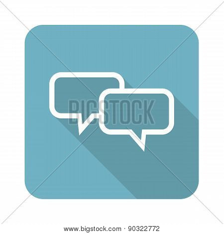 Square chat icon