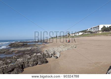 Early Morning On Umdloti  Beach In Durban