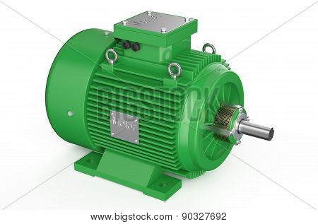 Green Industrial Electric Motor