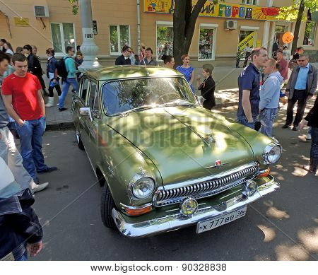 Soviet Executive Car Of 1960S Gaz 21 Volga