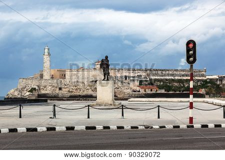 lighthouse and the old fortress in Havana