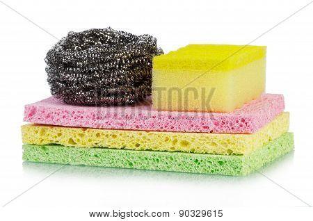 Sponges stack