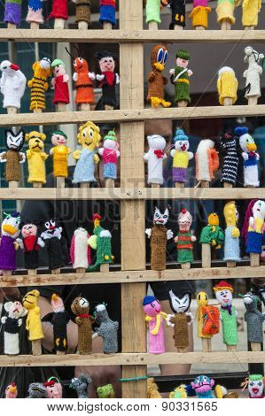 Traditional Ecuadorian Textiles Dolls