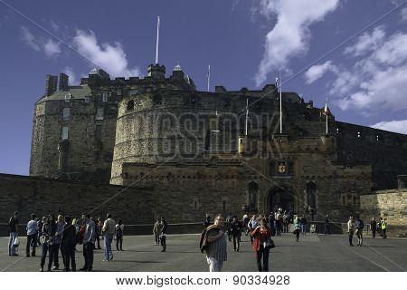 Edinburgh Castle, 3/25/12
