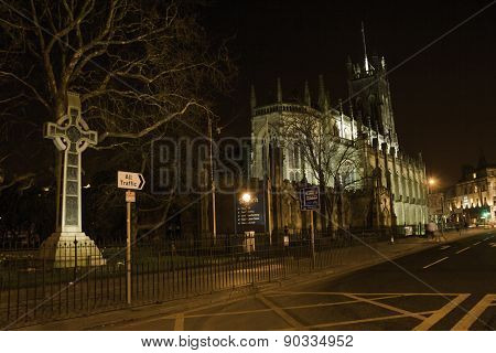 St. John's Episcopal Church at night - Edinburgh, Scotland