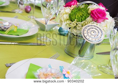 Cheerful Easter Table