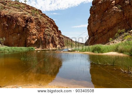 Alice Springs In Northern Territory, Australia