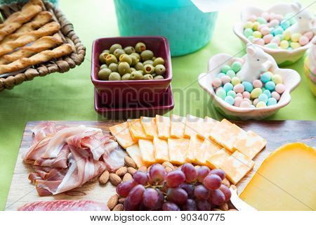 Easter Snack Table