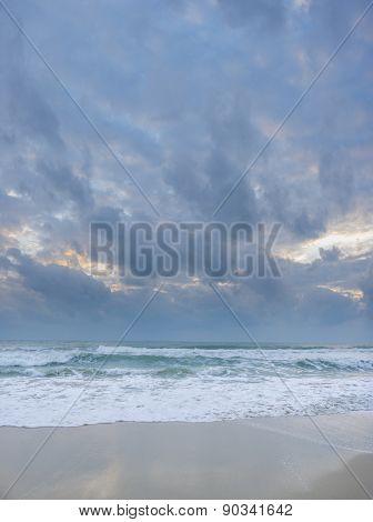 Tropical beach in Koh Samui island, Thailand