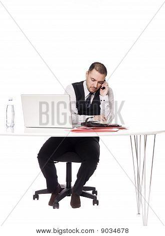 Man in an office