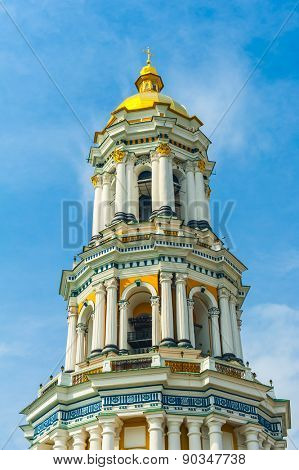 Detail of the Great Lavra Belltower, Kiev Pechersk Lavra, Ukraine