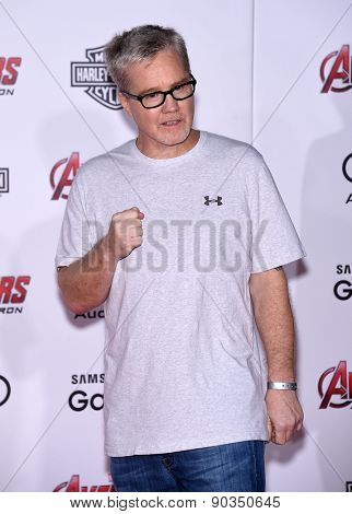 LOS ANGELES - APR 14:  Freddie Roach arrives to the Marvel's