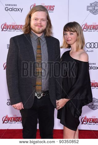 LOS ANGELES - APR 14:  Elden Henson arrives to the Marvel's