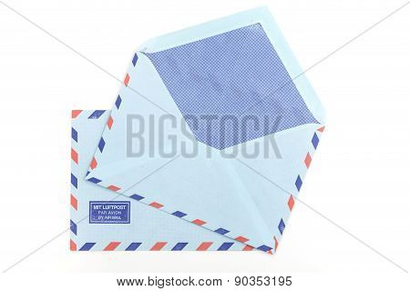 Vintage Two Air Mail Envelopes
