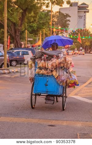 Bread vendor cart