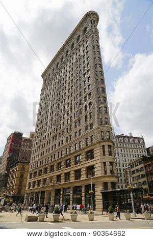 Historic Flatiron Building in Manhattan