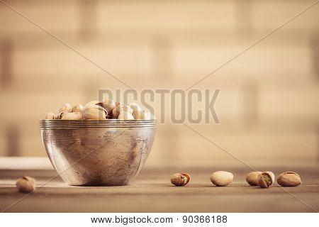 Bowl Of Pistachio Nuts