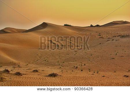 Pink Rock Desert, Sharjah, UAE