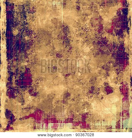 Abstract rough grunge background, colorful texture. With different color patterns: brown; gray; purple (violet); yellow (beige)