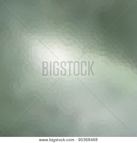 Abstract Blurry Green Light Pattern Background