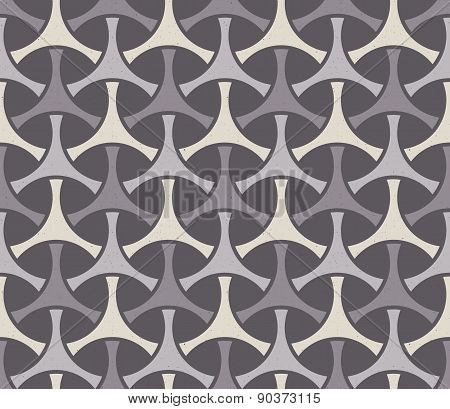 Seamless geometric print. Vector background.