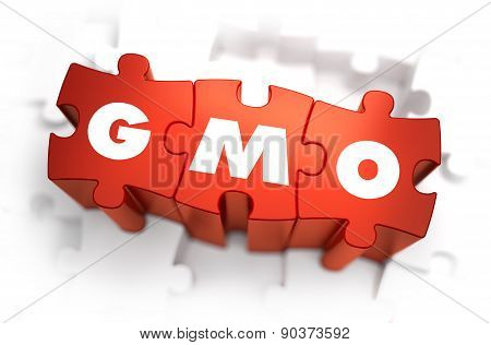 GMO - Text on Red Puzzles.